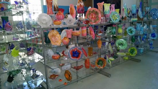 Bermuda Glass Blowing Studio: amazing works of art