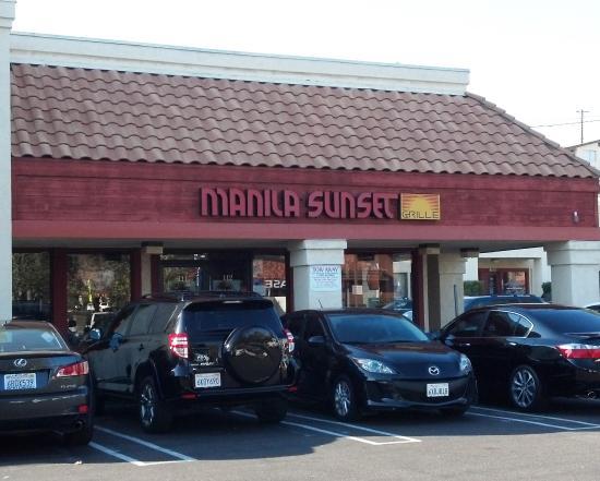 store front picture of manila sunset national city tripadvisor. Black Bedroom Furniture Sets. Home Design Ideas