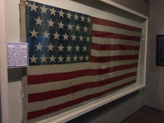 Old Bardstown Village Civil War Museum: Flag