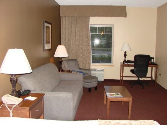 Best Western Golden Lion Hotel: Room sitting area