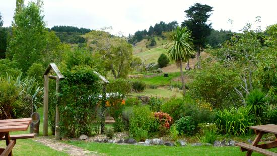 Puhoi Cottage Tea Rooms: Toller Garten !!!