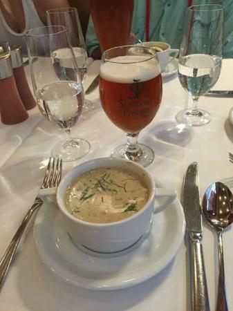 Prague Food Tour: Dill soup mmmmmm