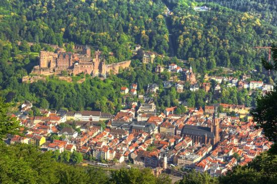 Neckarperle Hotel-Restaurant: Nearby is Heidelberg