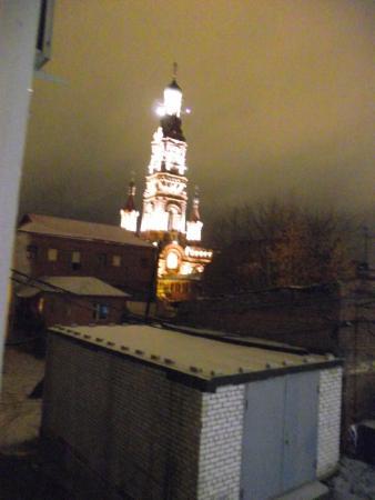 Regina Universitetskaya: вид из номера, окном обращенного во двор
