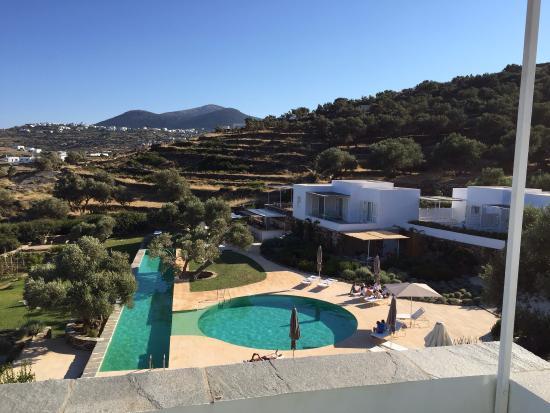 Kamaroti Suites Hotel: Vista del hotel desde la habitación
