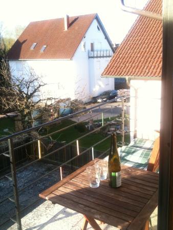 Aach Bodensee Motel: С балкона