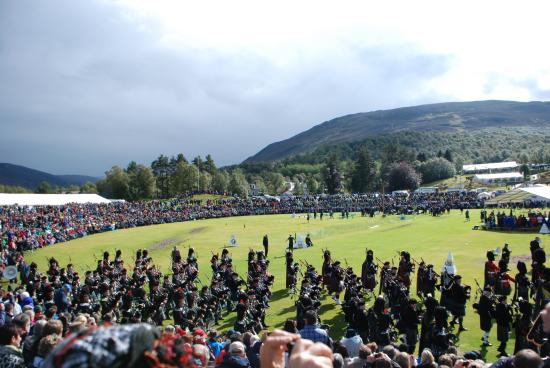 The Braemar Gathering: When the Queen ordered the sun to shine!