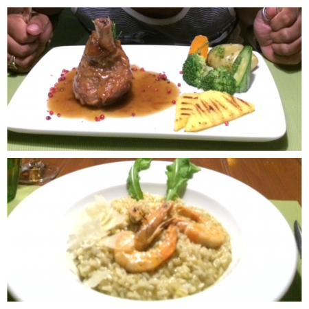 Mama's Dinner Restaurant : The best Lamb Shank and Shrimp Risotto ever!