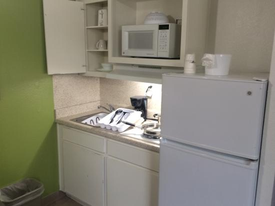 Clean, affordable, and a full kitchen!