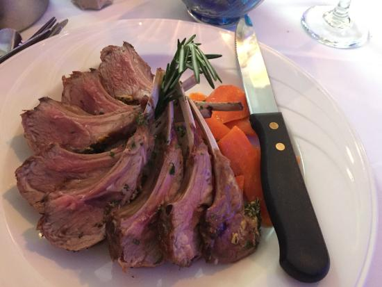 Yellowfin's: Rack of Lamb