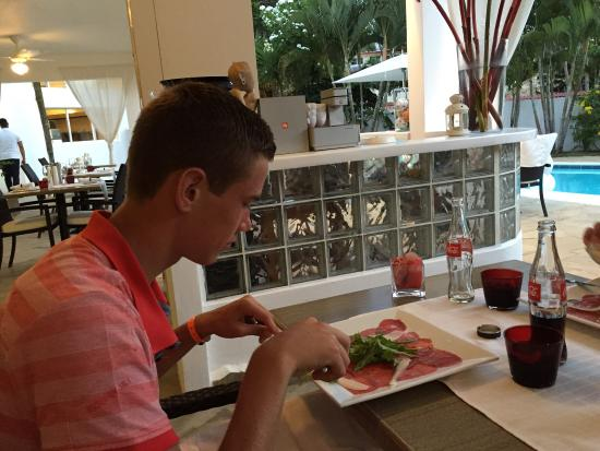 Restaurant Casa Veintiuno: Het beste restaurant in sosua en verre omgeving. Jammer dat wij het niet eerder ontdekt hebben.