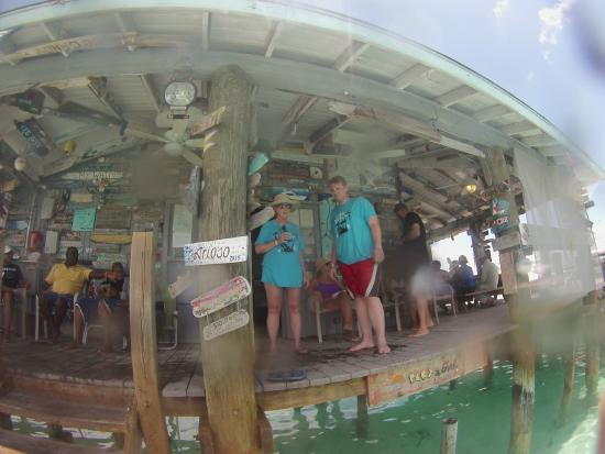 Compass Cay : Bar area