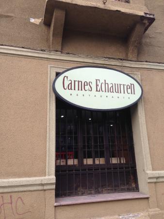 Las Carnes de Echaurren