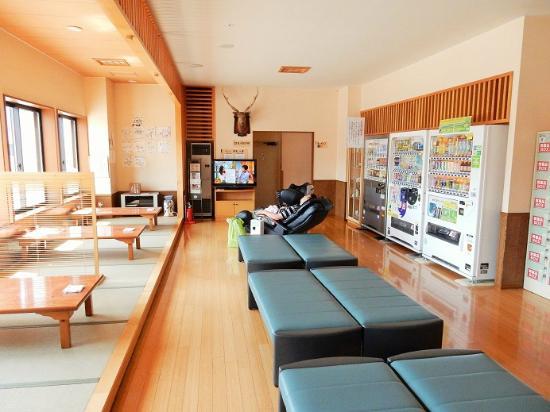 Hotel Sansui: 休息スペース