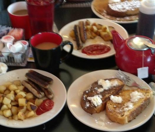 Union City, PA: all you can eat breakfast ....all made fresh to order