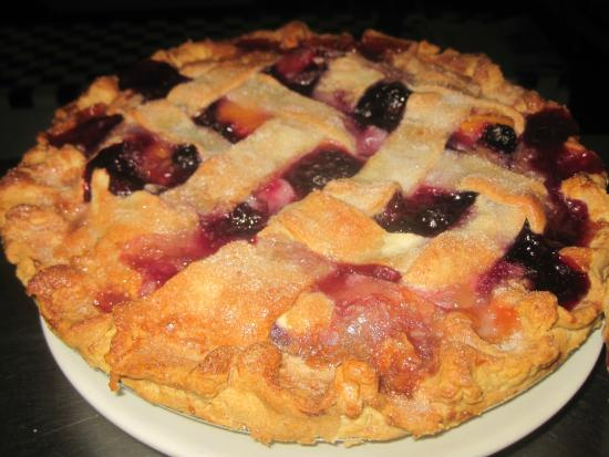 Union City, PA: blueberry peach pie