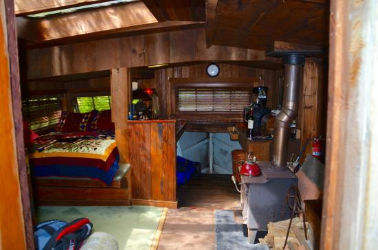 Westport, CA: The Boat House. Real boat transformed by Sonny the owner.