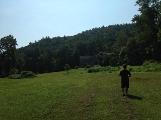 The Inn at Sugar Hollow Farm: On a walk on the grounds