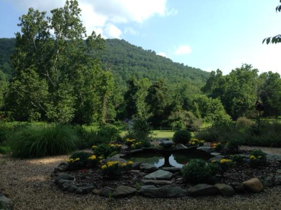 The Inn at Sugar Hollow Farm: View from one of the gardens