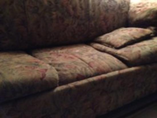 Lake Rudolph Campground & RV Resort: couch
