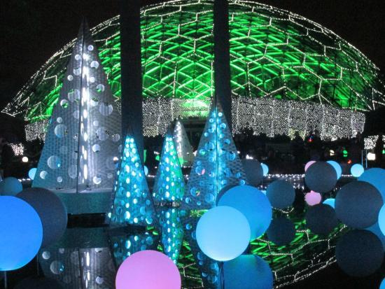 Garden Glow December 2015 Picture Of Missouri Botanical Garden Saint Louis Tripadvisor
