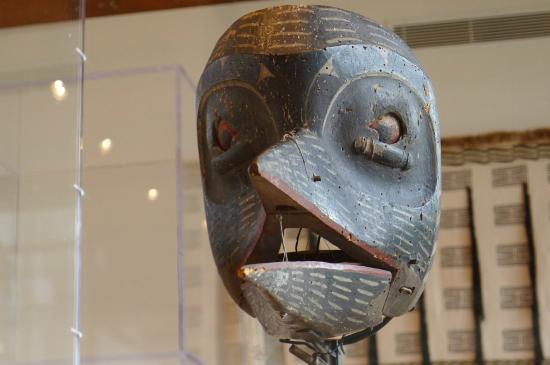 Museum of Northern British Columbia: Bird mask