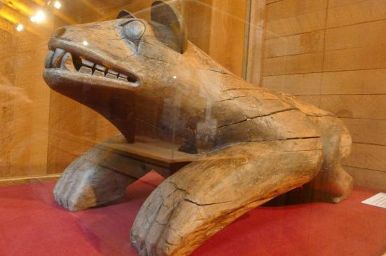 Museum of Northern British Columbia: Bear mortuary totem