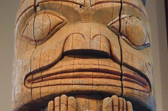 Museum of Northern British Columbia: Totem head