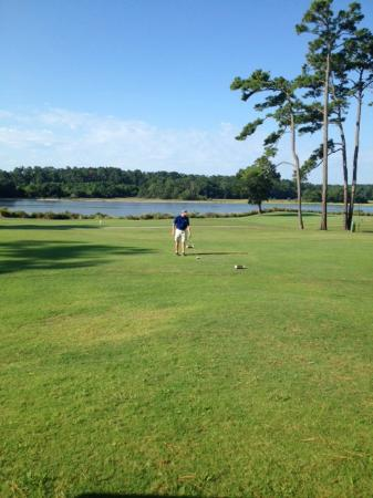 Glen Dornoch Waterway Golf Links : Beautiful views