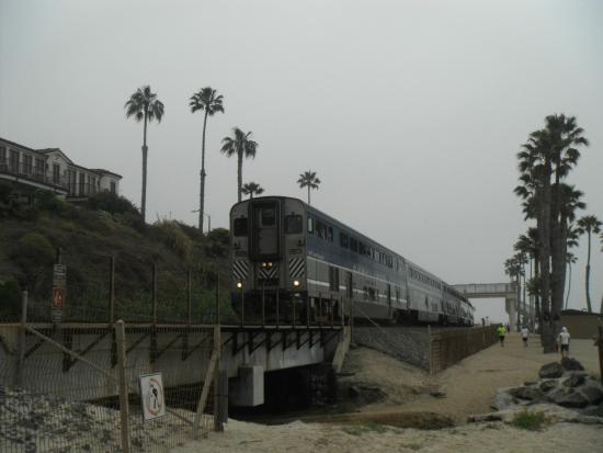 San Clemente, CA: train