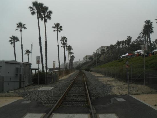 San Clemente Coastal Trail: railroad