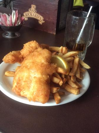 Erie Belle: White fish and chips- $16.99