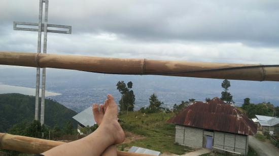 Paralayang di Matantimali: Menyambut fajar dari villa ku di matantimali