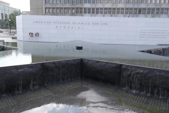 The American Veterans Disabled For Life Memorial