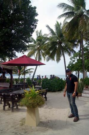 Sandy Beach Resort: View from the Restaurant......