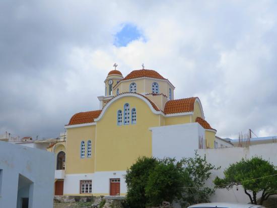 Diafani, Greece: Kirche Zoodochos Pigi