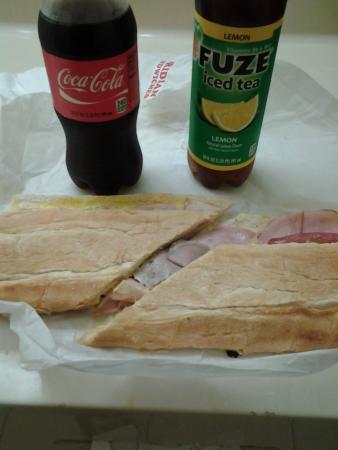 The Floridian: Cuban sandwich!