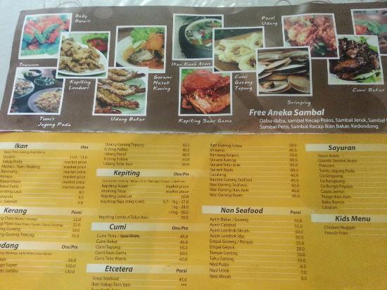 Hasil gambar untuk Gama Ikan Bakar & Seafood di semarang