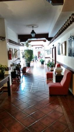 Las Rampas: Inside hotel