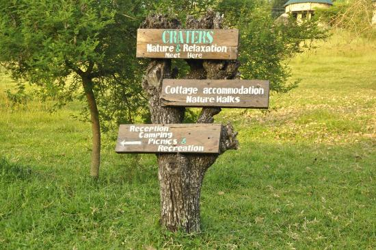 """Craters campsite & country lodge """"where Nature & Relaxation meet """""""