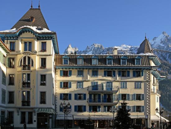 Grand Hotel des Alpes: Facade de l'Hôtel