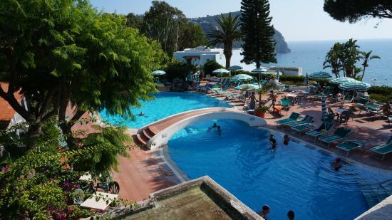 Parco Hotel Terme Villa Teresa : piscina termale esterna