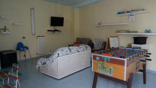 Parco Hotel Terme Villa Teresa : sala giochi