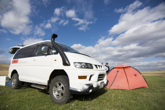 Zavkhan Trekking - Day Trips: Our trusty steed and tent