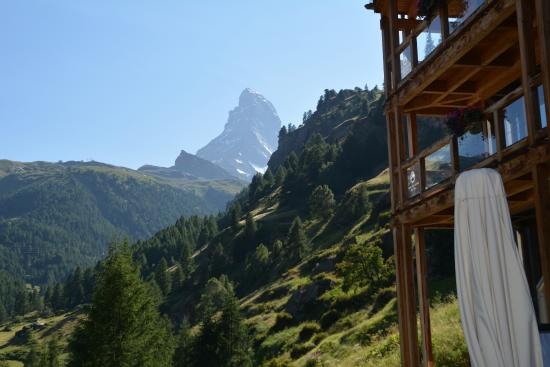 Coeur des Alpes: The view from terrace