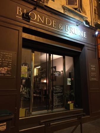 Blonde Et Brune Restaurant Marseille