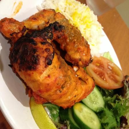 Flora Indian Restaurant: Tandoori Chicken