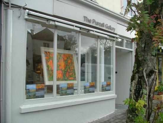 Kenmare, Ireland: The Purcell Gallery Window