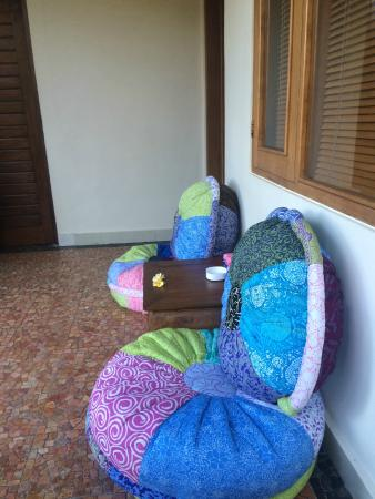 Bayu Guest House: out seats onside room