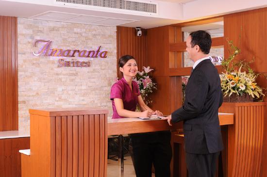 Amaranta Hotel: Reception